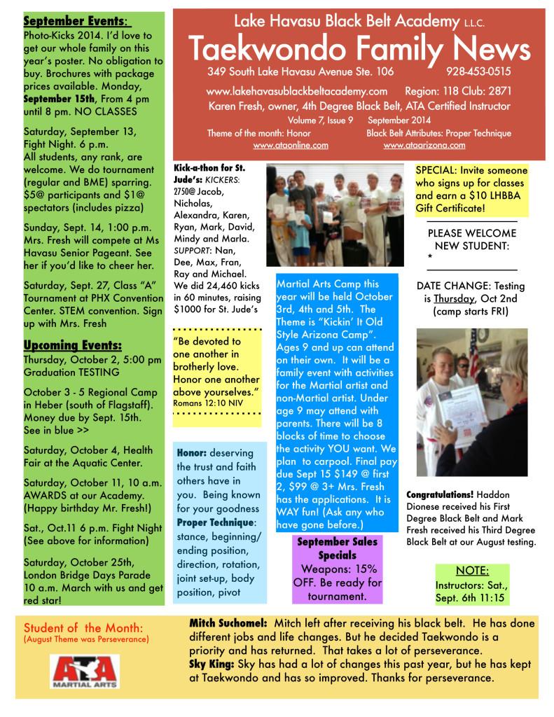 LHBBANewsletterSEPT2014