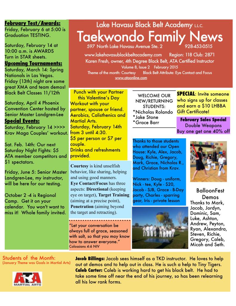 LHBBANewsletterFEB2015